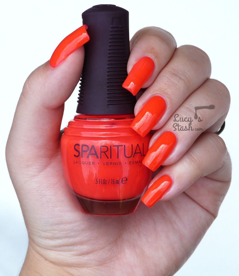 Neon goodness with SpaRitual Jubilee - Review & Swatches