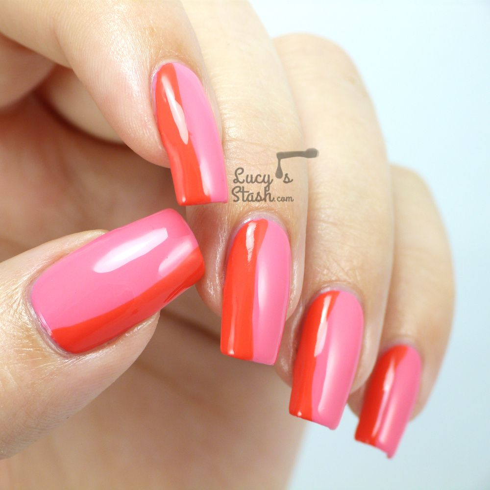 Girly Floating French Manicure (with tutorial)