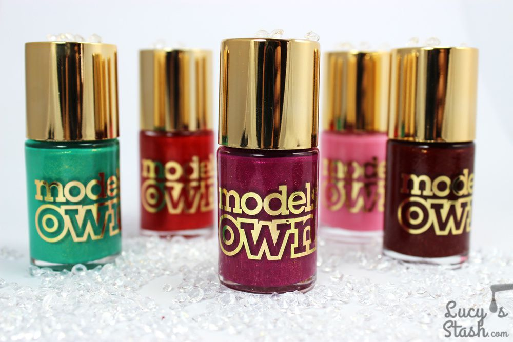 Models Own Diamond Luxe Collection polishes - Bottle shots & press release