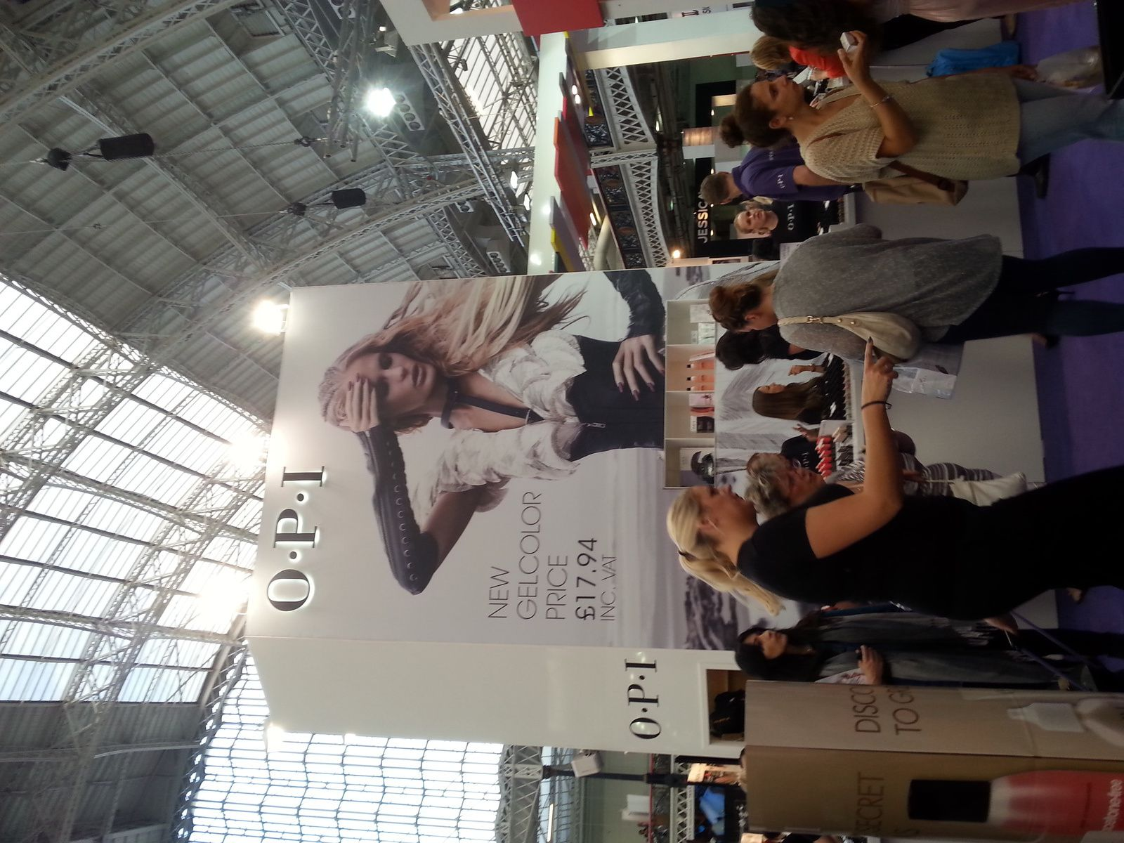My visit to Olympia Beauty Exhibition 2014 in London