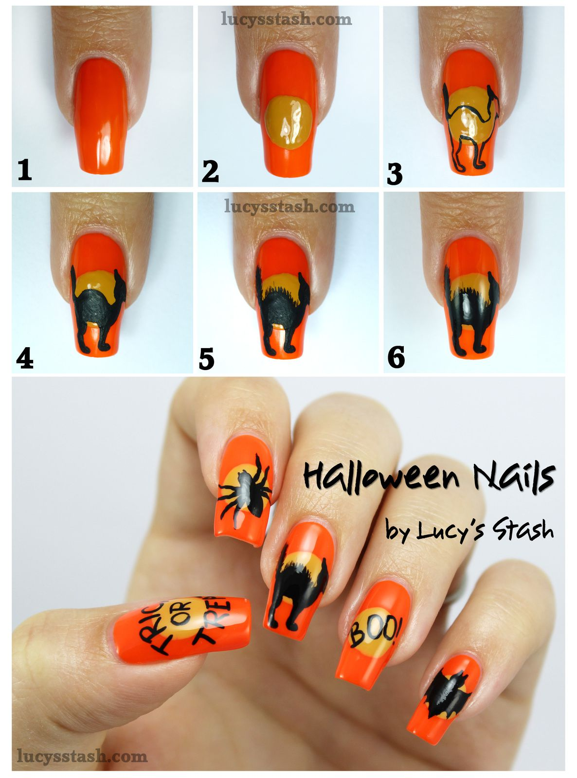Halloween Mix & Match Nails with SpaRitual