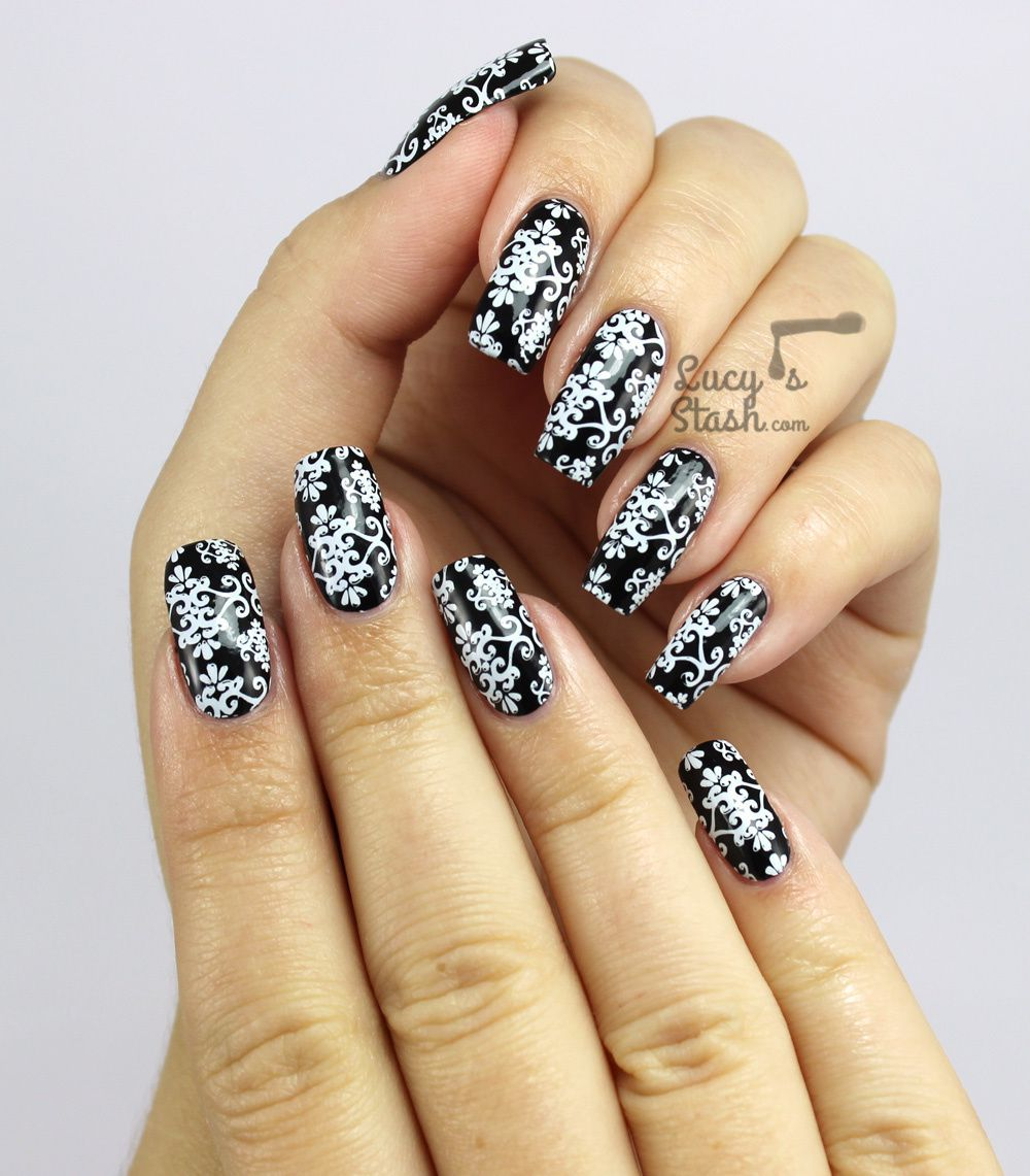 The nails I wore for the Cosmopolitan Blog Awards Ceremony...