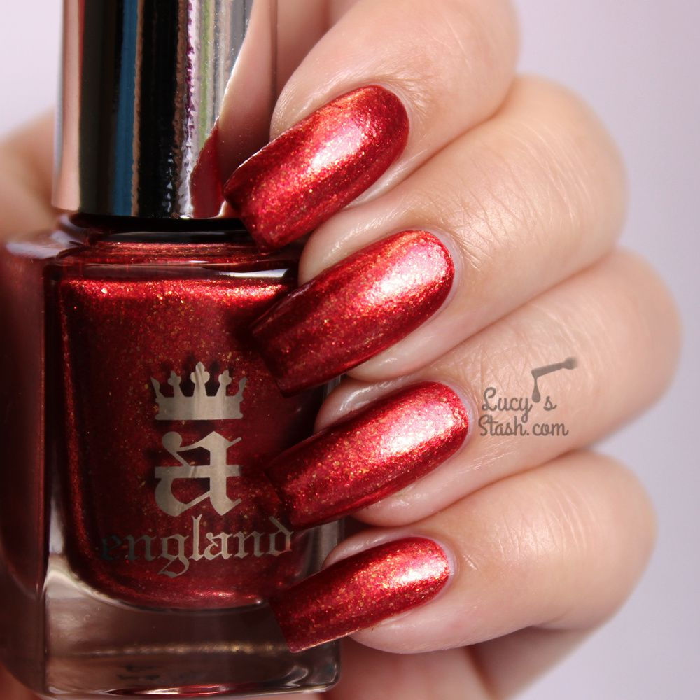 A England Elizabeth & Mary Collection - Review and Swatches