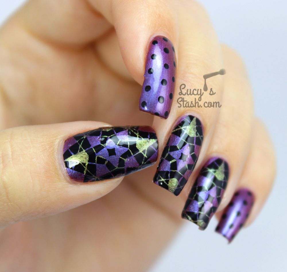 Kaleidoscope Nails with Spell Polish + TUTORIAL