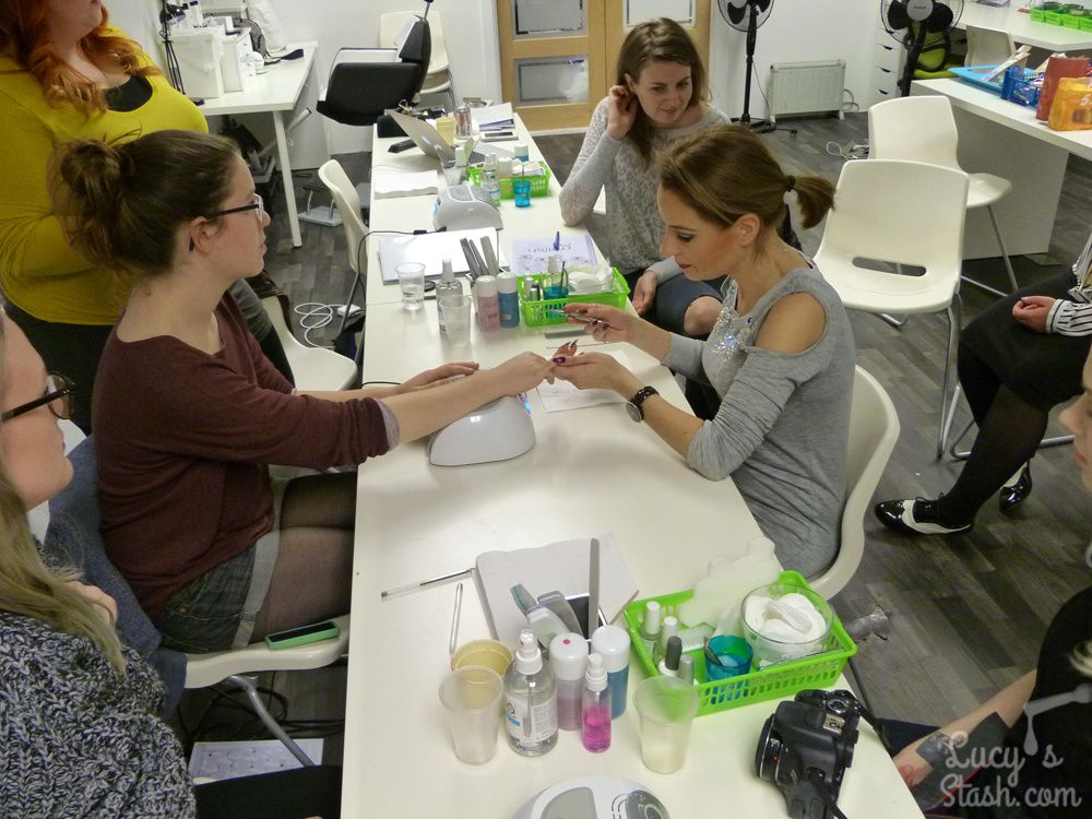 About The Day I spent At Nail Harmony HQ Training With Gelish