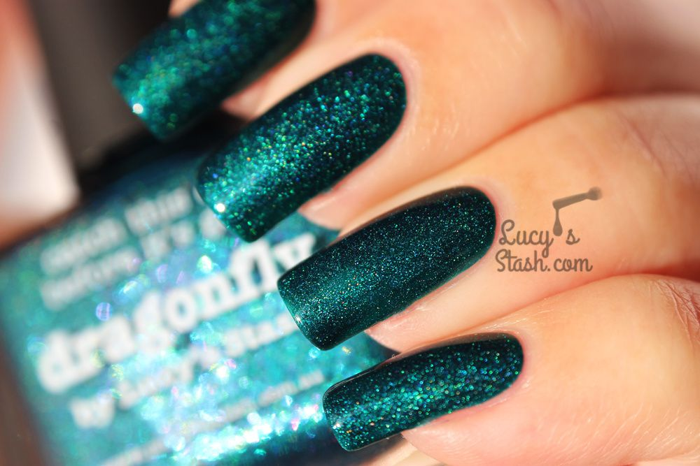 piCture pOlish Dragonfly by Lucy's Stash - Review, Swatches & Giveaway