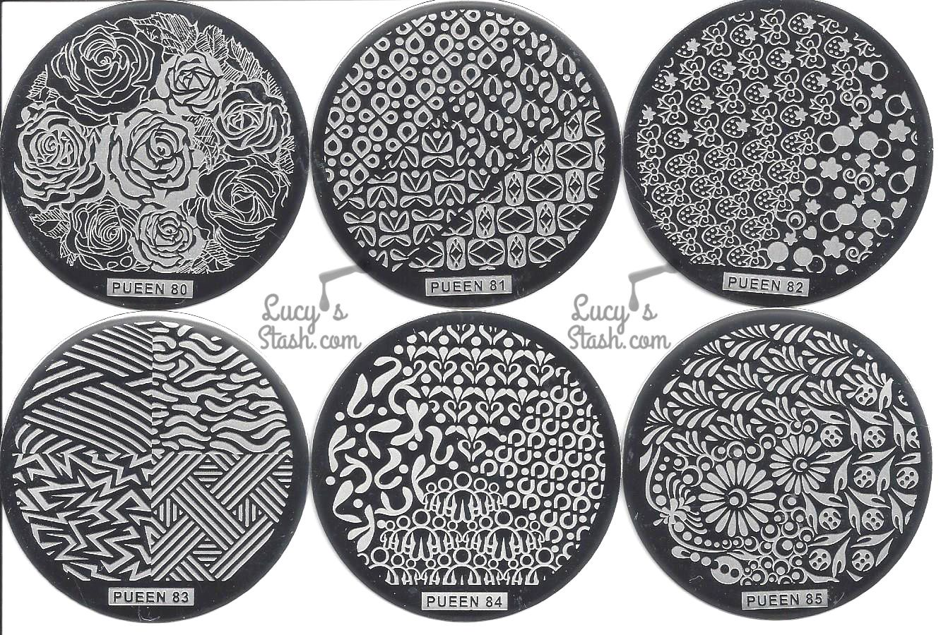 Review: Pueen Cosmetics Buffet Leisure Stamping Set