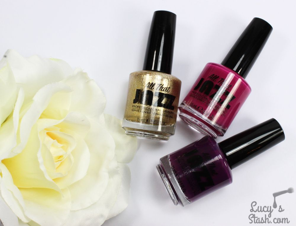 Glam Colour-Block Nails with All That Jazz + TUTORIAL