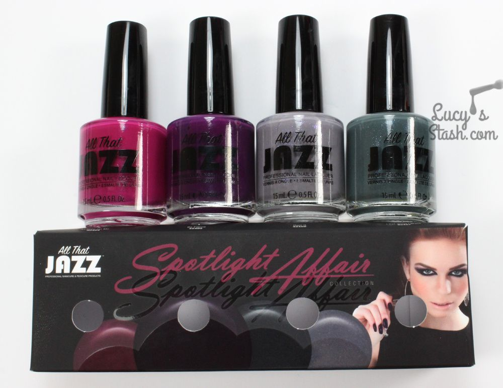 All That Jazz Spotlight Affair Collection - Review & Swatches