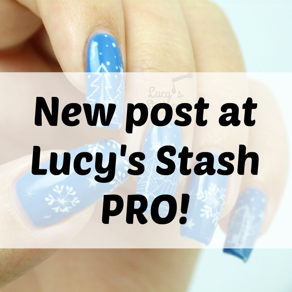 New post at Lucy's Stash PRO! Nail Art Design & Tutorial