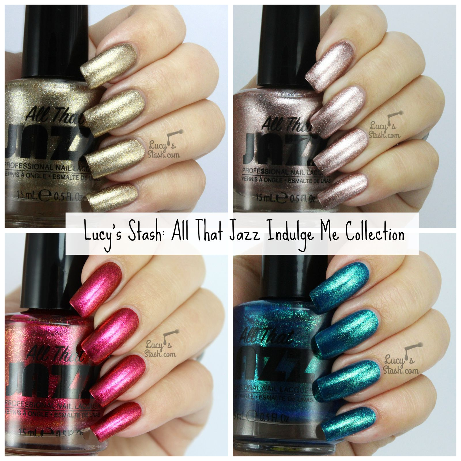 All That Jazz Indulge Me Collection - Review & Swatches