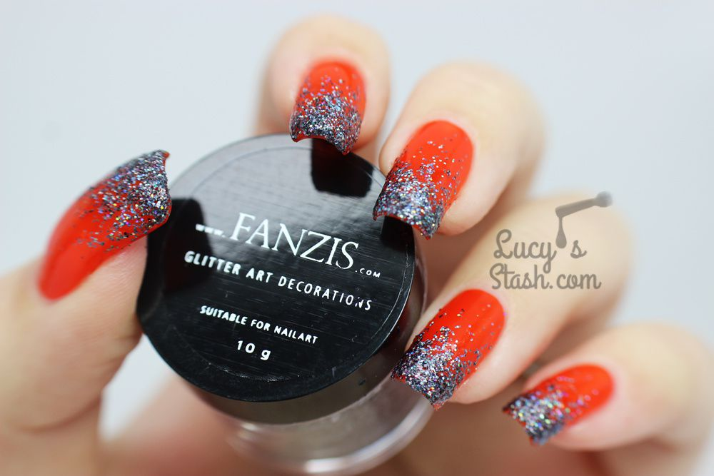Glitter Gradient with FANZIS Glitter & Dance Legend