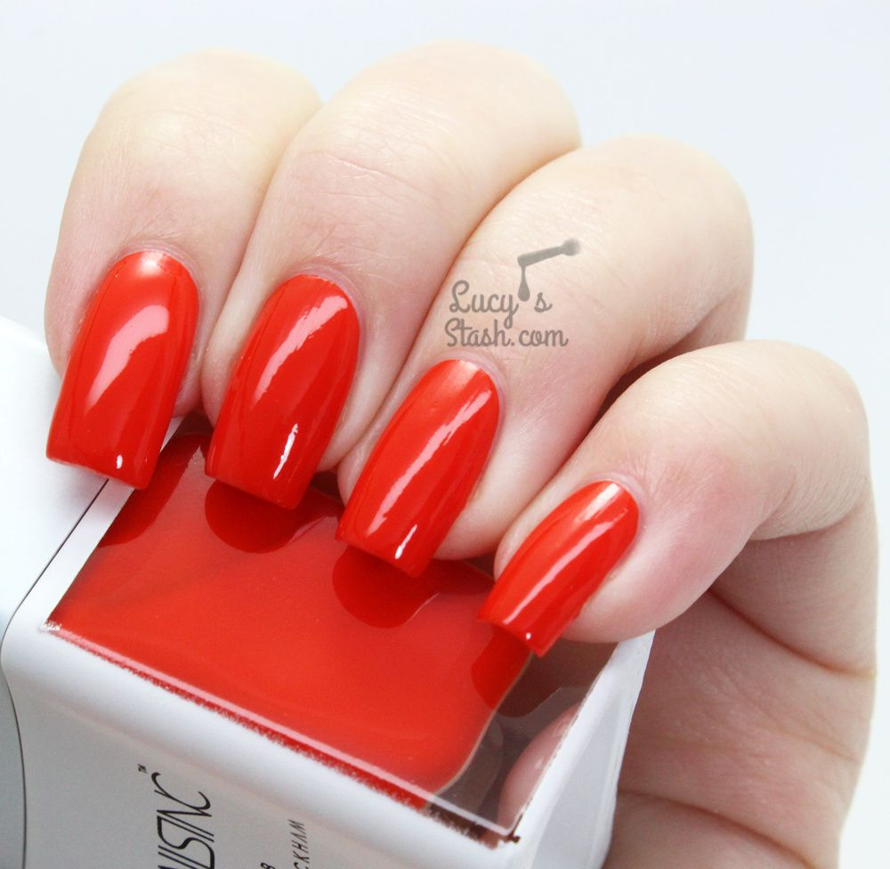 Nails Inc VVB Victoria Beckham Polishes - Review & Swatches