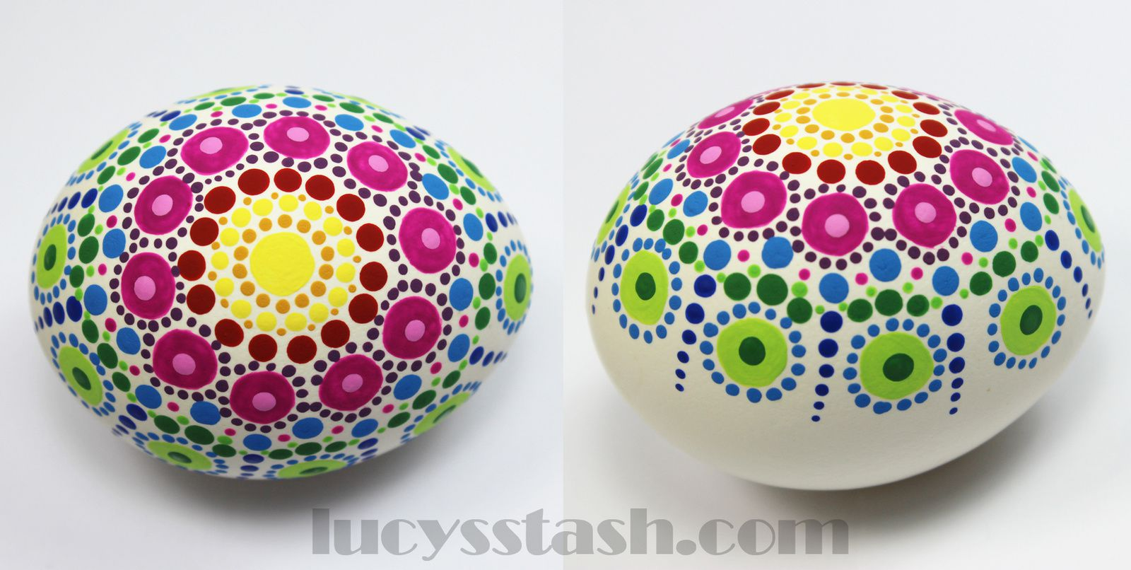 Easter Crafting: How To Create Dotted Easter Eggs