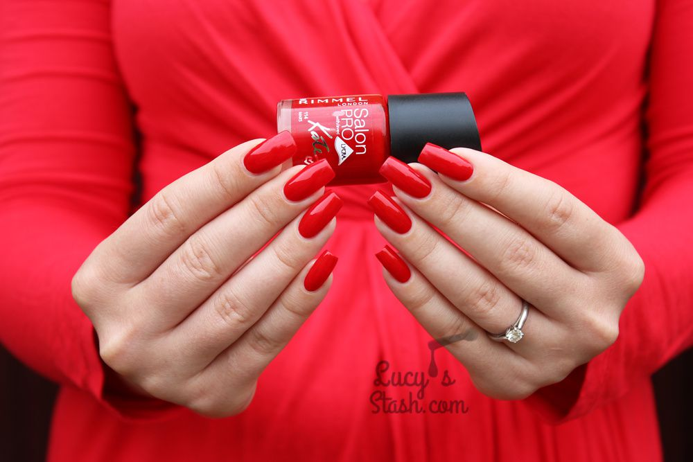 Red is my colour! feat. Rimmel London Mars