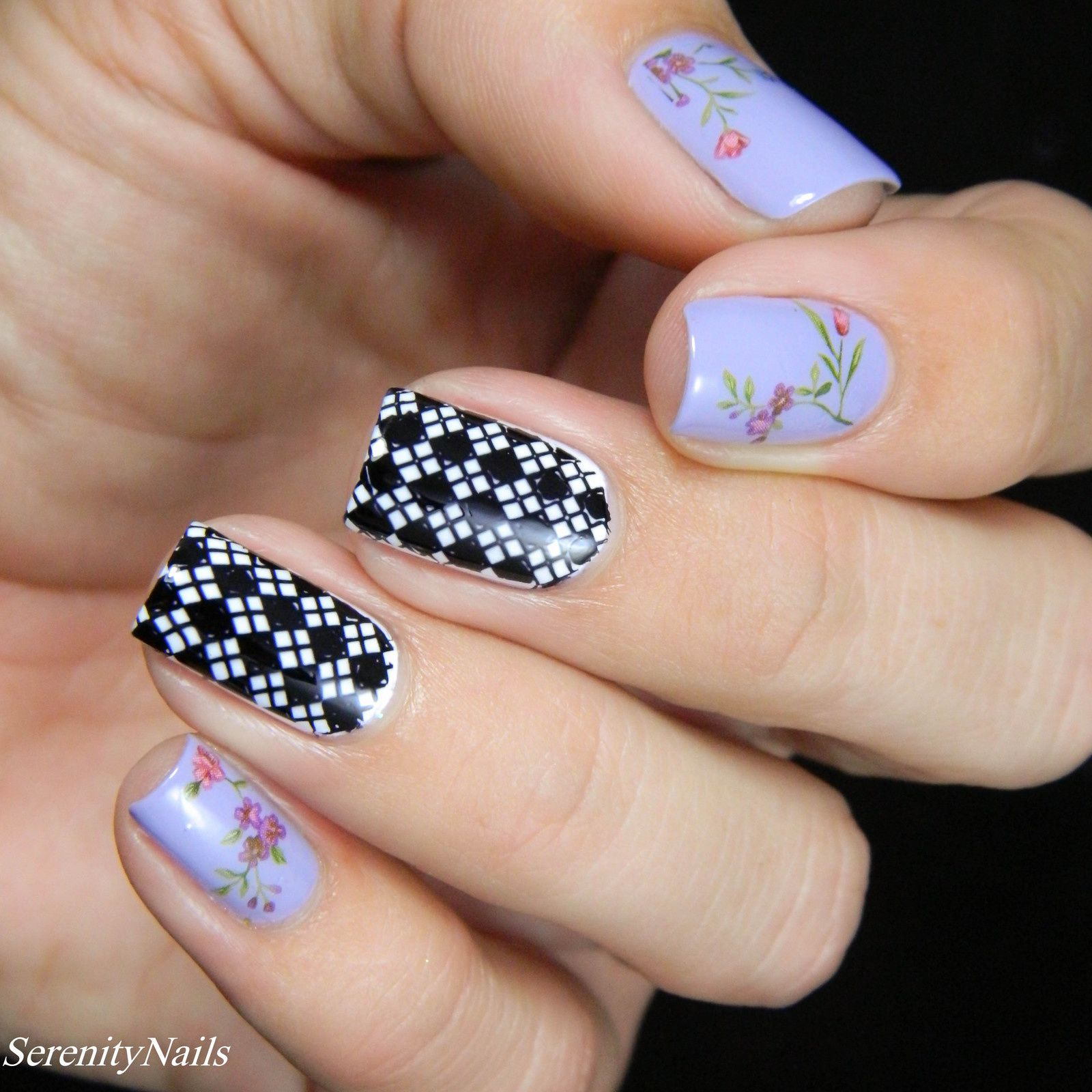 Guest Post: Serenity Nails at Lucy's Stash!