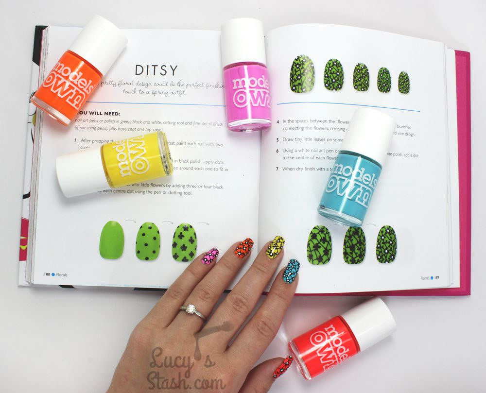 A Nail Art Book NOT To Be Missed! Nail It! by The Illustrated Nail + DITSY Nail Art Design + Review