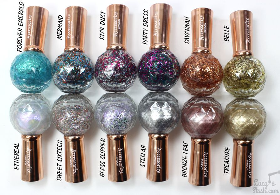 NEW Accessorize Nail Polish Range!