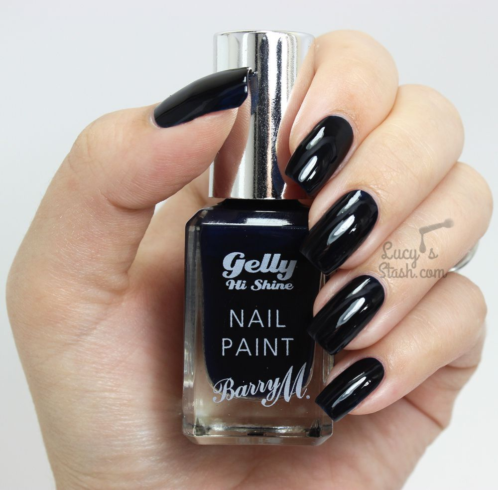 Barry M Midnight Gelly Collection - Review & Swatches