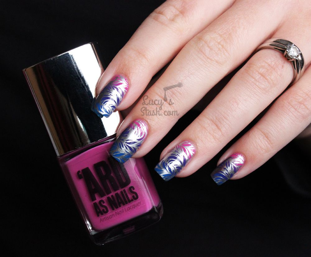 Bundle Monster + Lucy's Stash Collaboration Stamping Plate & GIVEAWAY!
