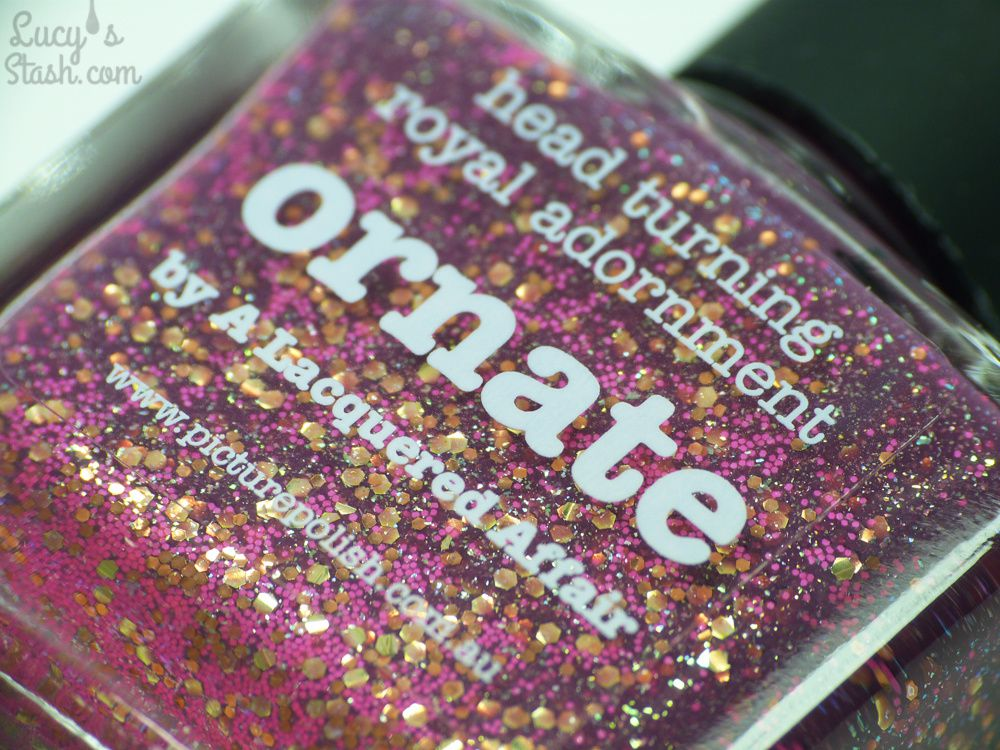 piCture pOlish Ornate - Review & Swatches