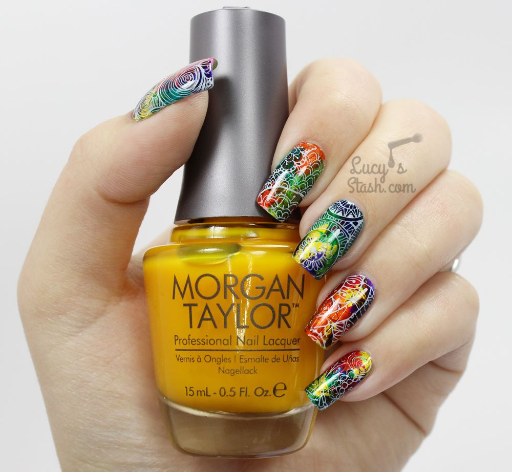 Marbled Madness! | Nail Art Tutorial | Bundle Monster Shangri-La Collection Review