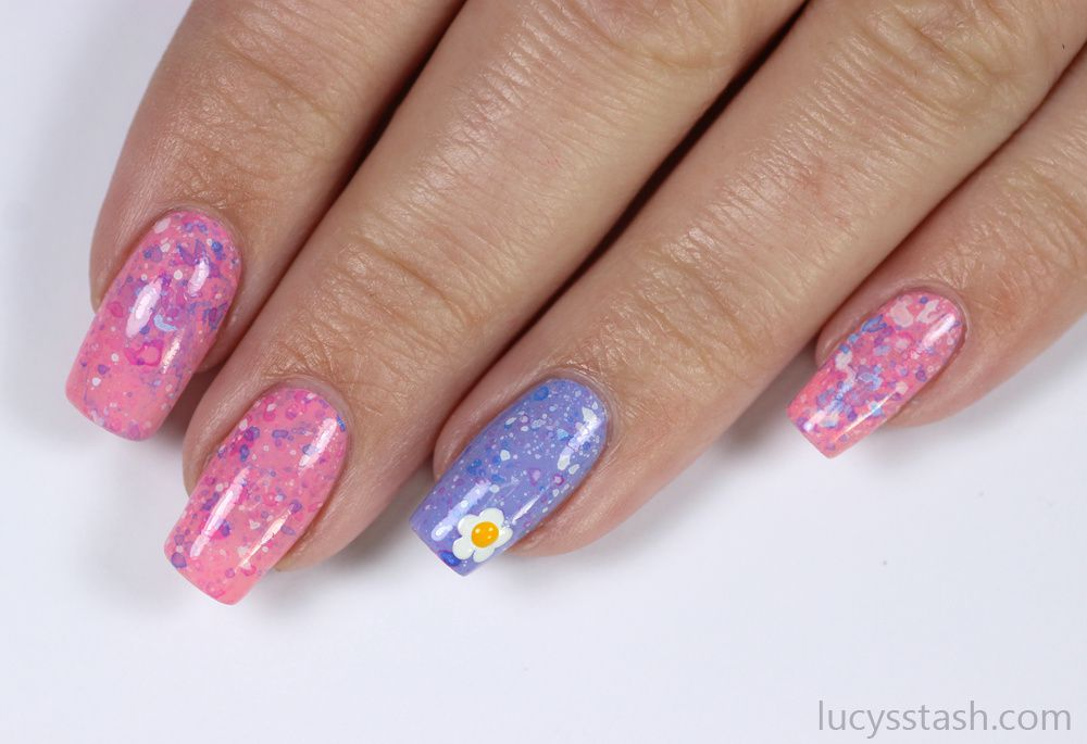Spotty Spring Nails | Tutorial for beginners
