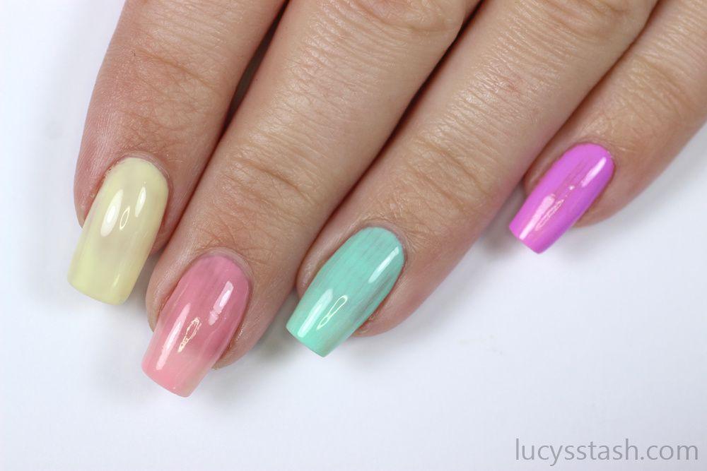 Easter Bunny & Polka Dots Nails   Advanced TUTORIAL