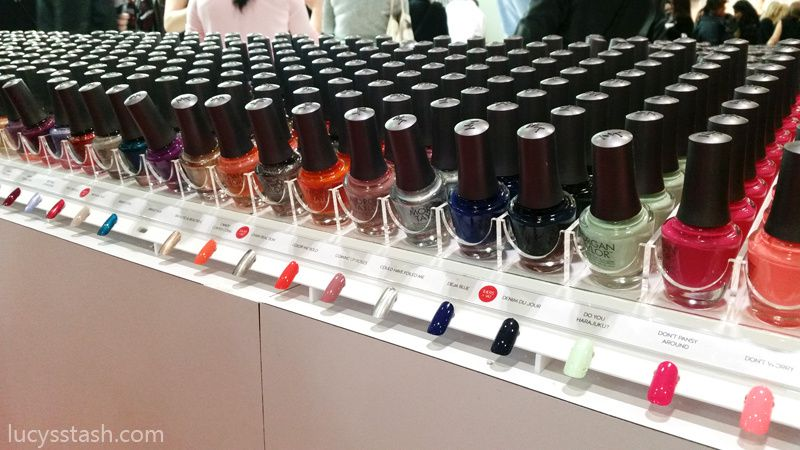 Artistic COLOUR Revolution range, Morgan Taylor nail polish