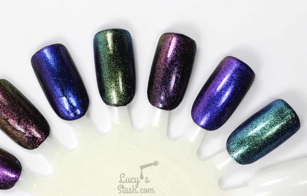 Born Pretty Store Chameleon Gel Polish Collection Review & Nail Art