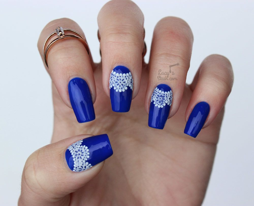 ABC Challenge: B is for Blue | Nail Art Challenge