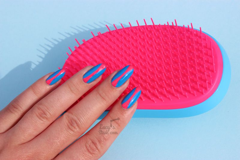 Pop Art Inspired Nail Art & Tangle Teezer x Little Ondine Competition!