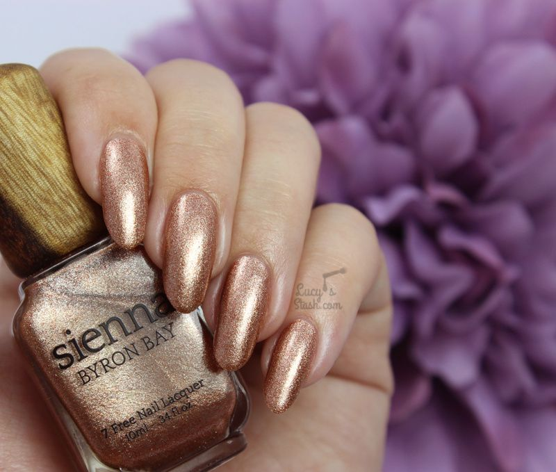 Sienna Byron Bay Polishes & Top Coat - Review & Swatches