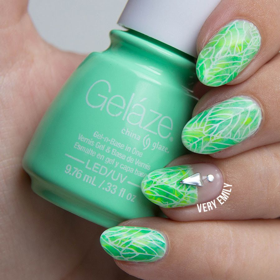 Guest Post: Stamped Nail Art from Very Emily