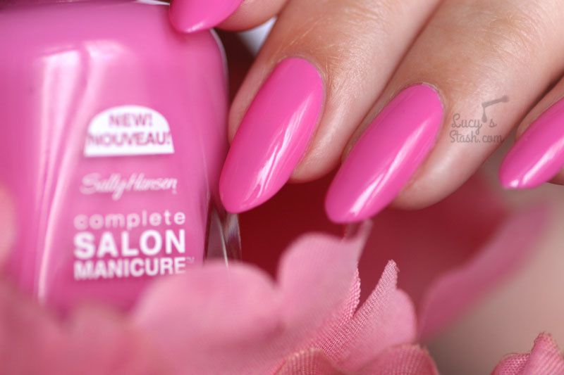 Dress your nails in pink with Sally Hansen Tulips are Talking