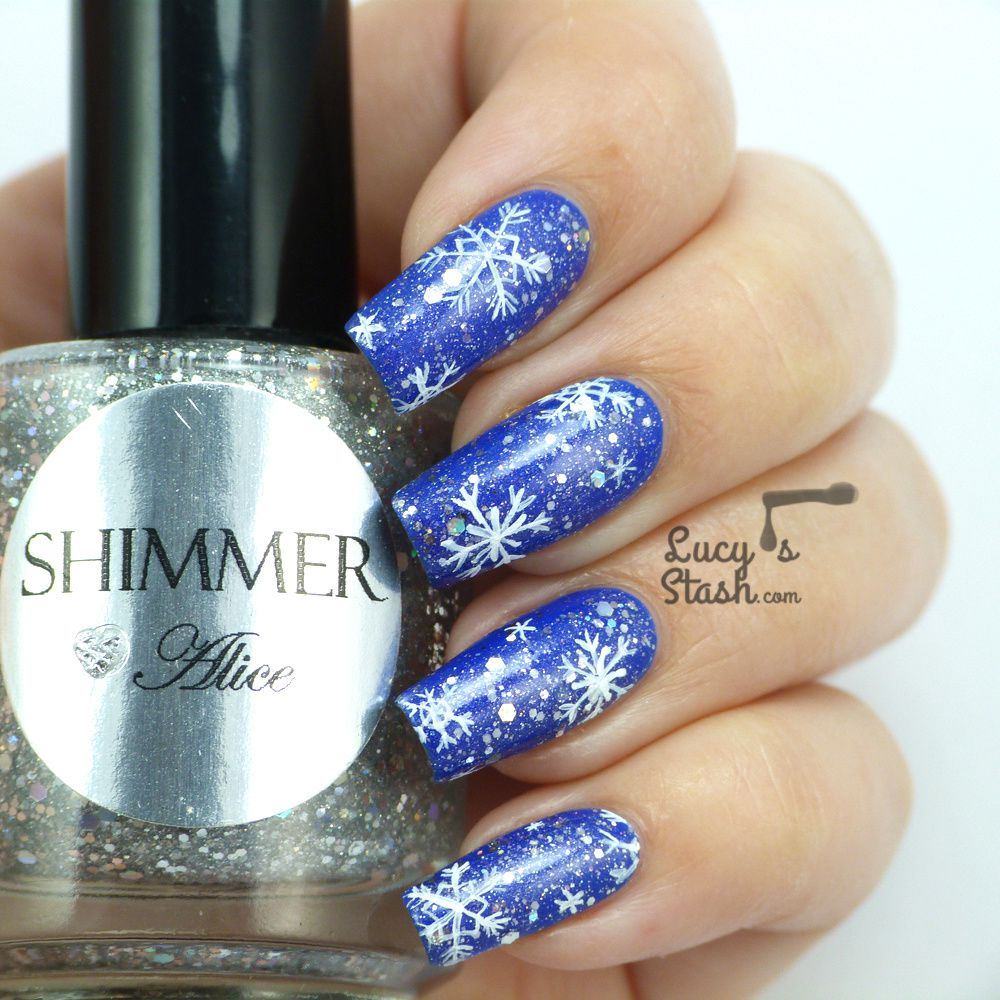 Snowflake Nail Art is here!