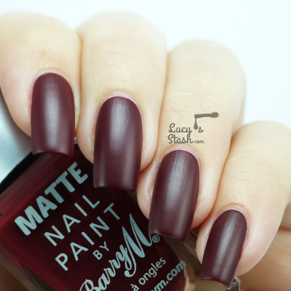 Barry M Matte Crush - Review and Swatches
