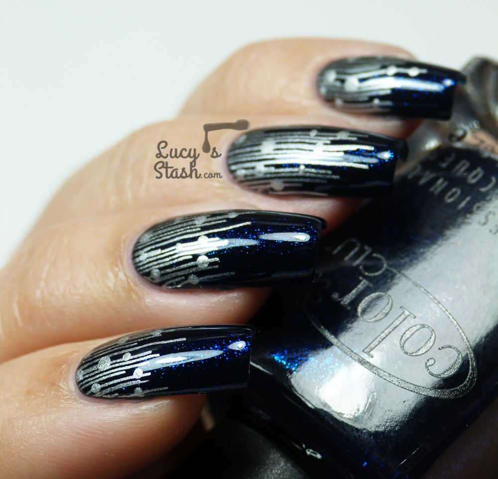 New Years Look: Fireworks Inspired Nail Art