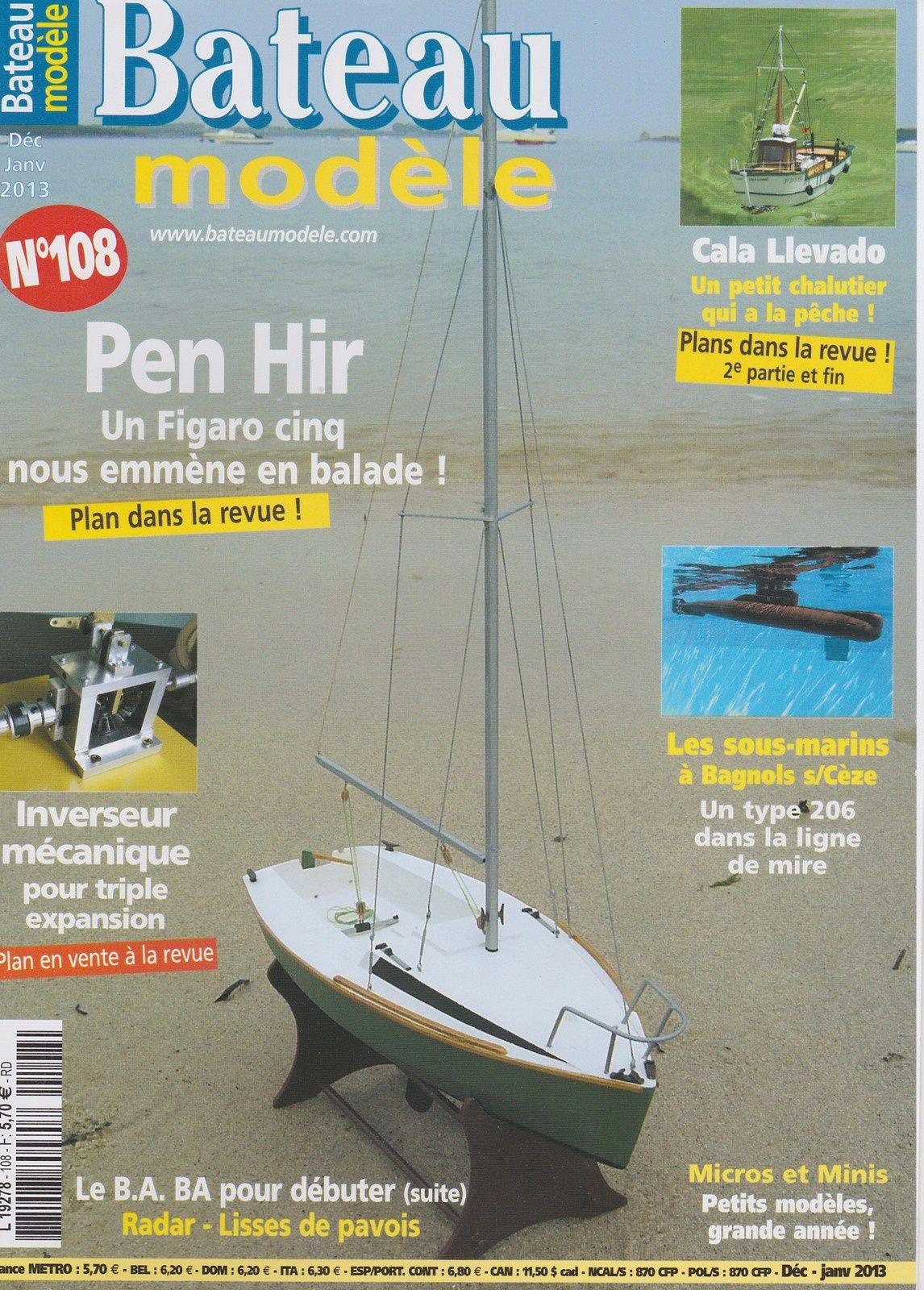 13 Plans De Bateaux Modelisme Naval Mon Chalutier Au 1 15eme