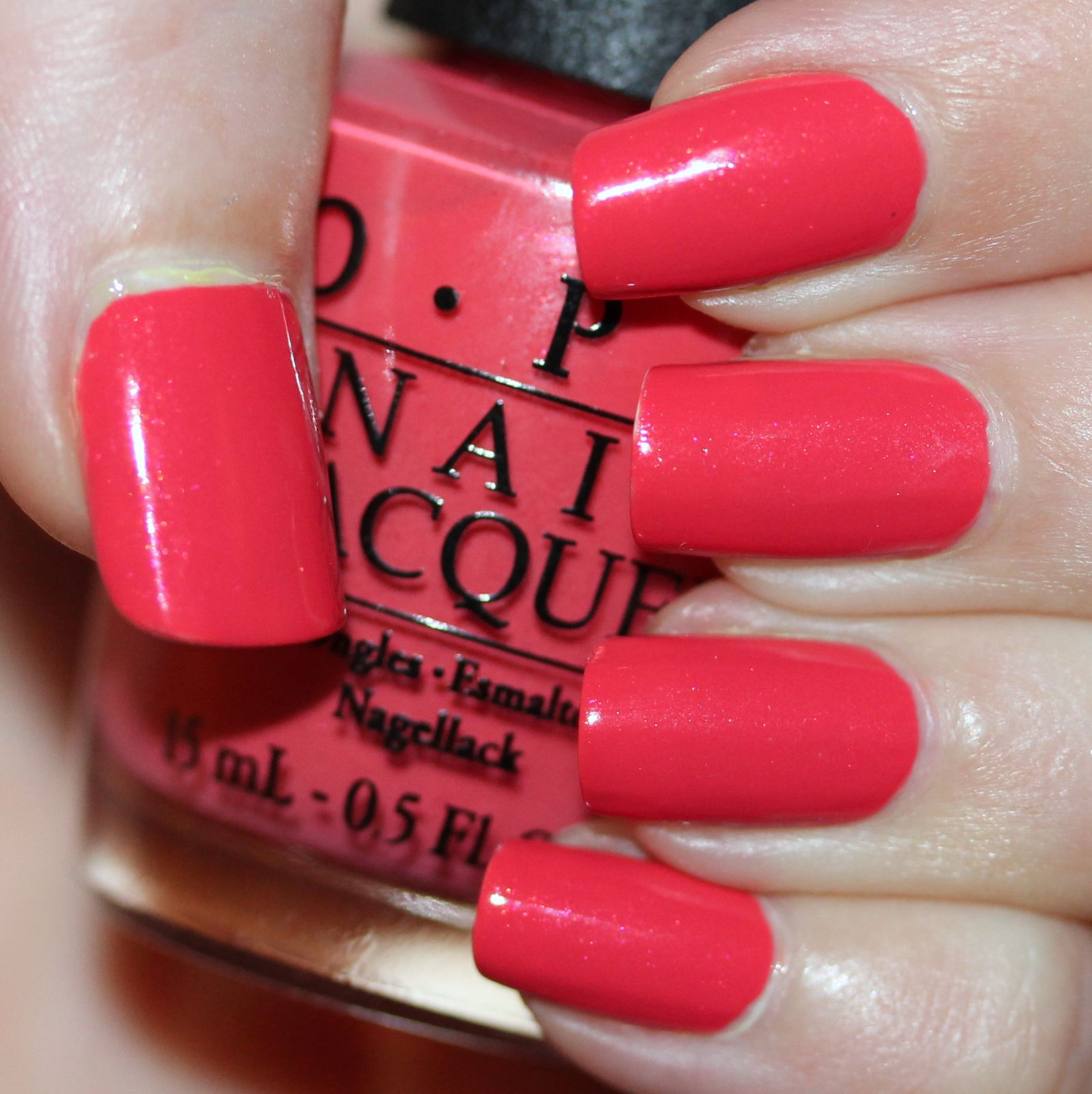 Duri Rejuvacote / OPI I Eat Mainely Lobster / Sally Hansen Miracle Gel Top Coat
