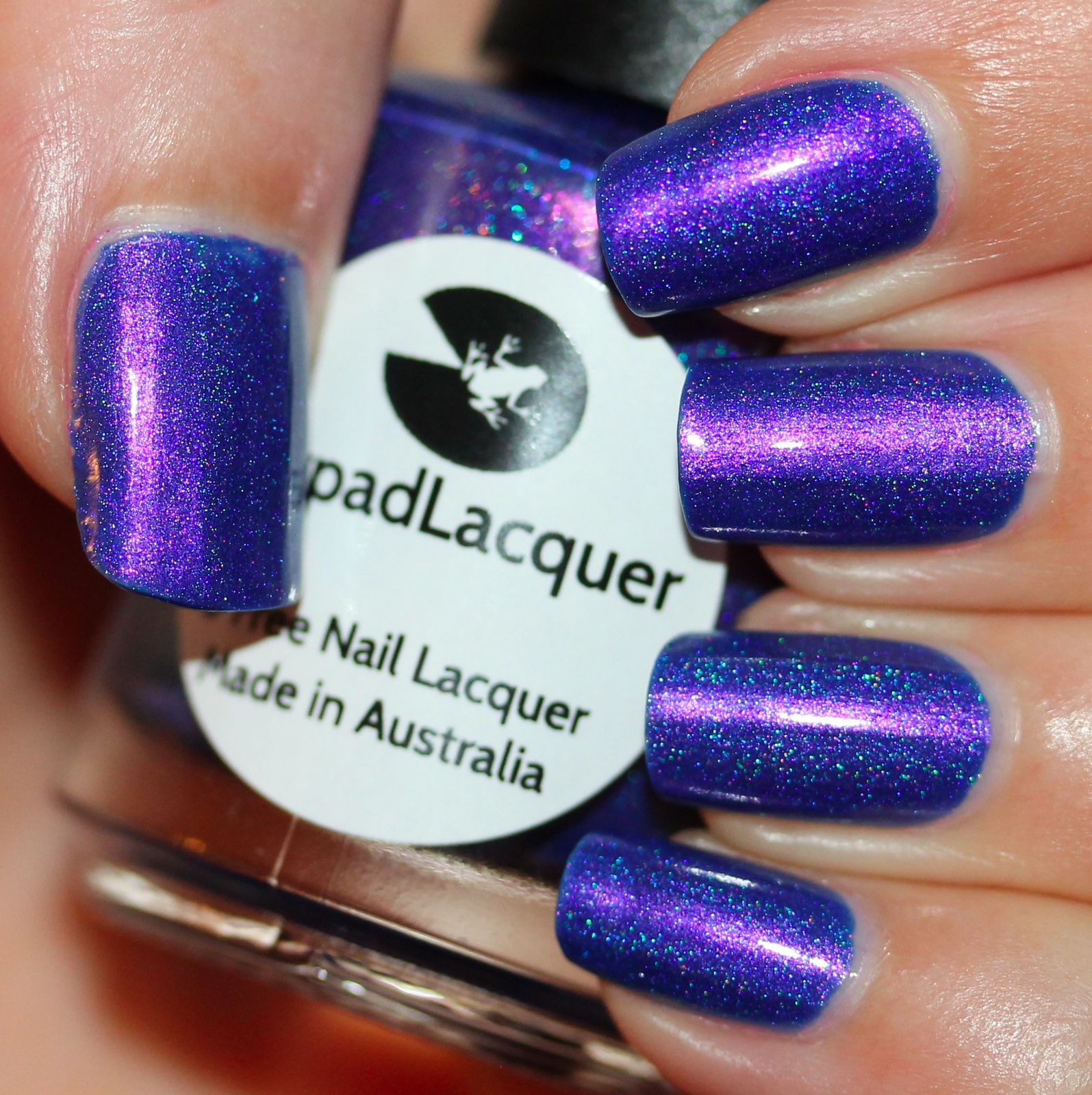 Lilypad Lacquer First Base / Lilypad Lacquer Supernatural / Lilypad Lacquer Crystal Clear Top Coat
