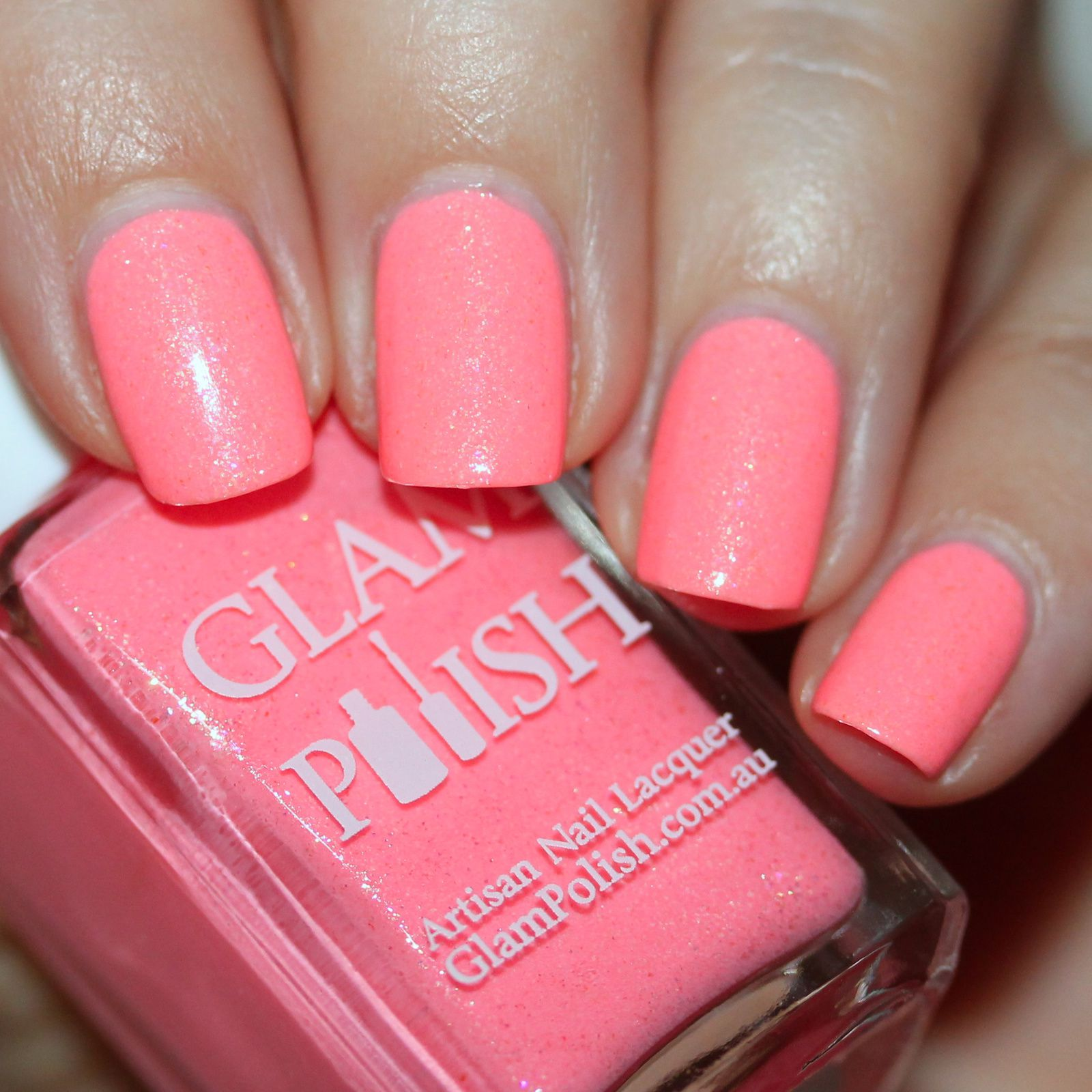 Duri Rejuvacote / Glam Polish Sweet Peach / HK Girl Top Coat