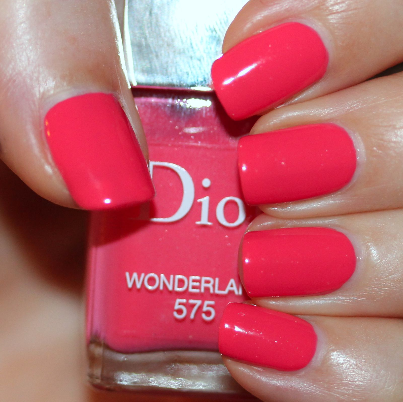 Essie Protein Base Coat / Dior Wonderland / Poshe Top Coat