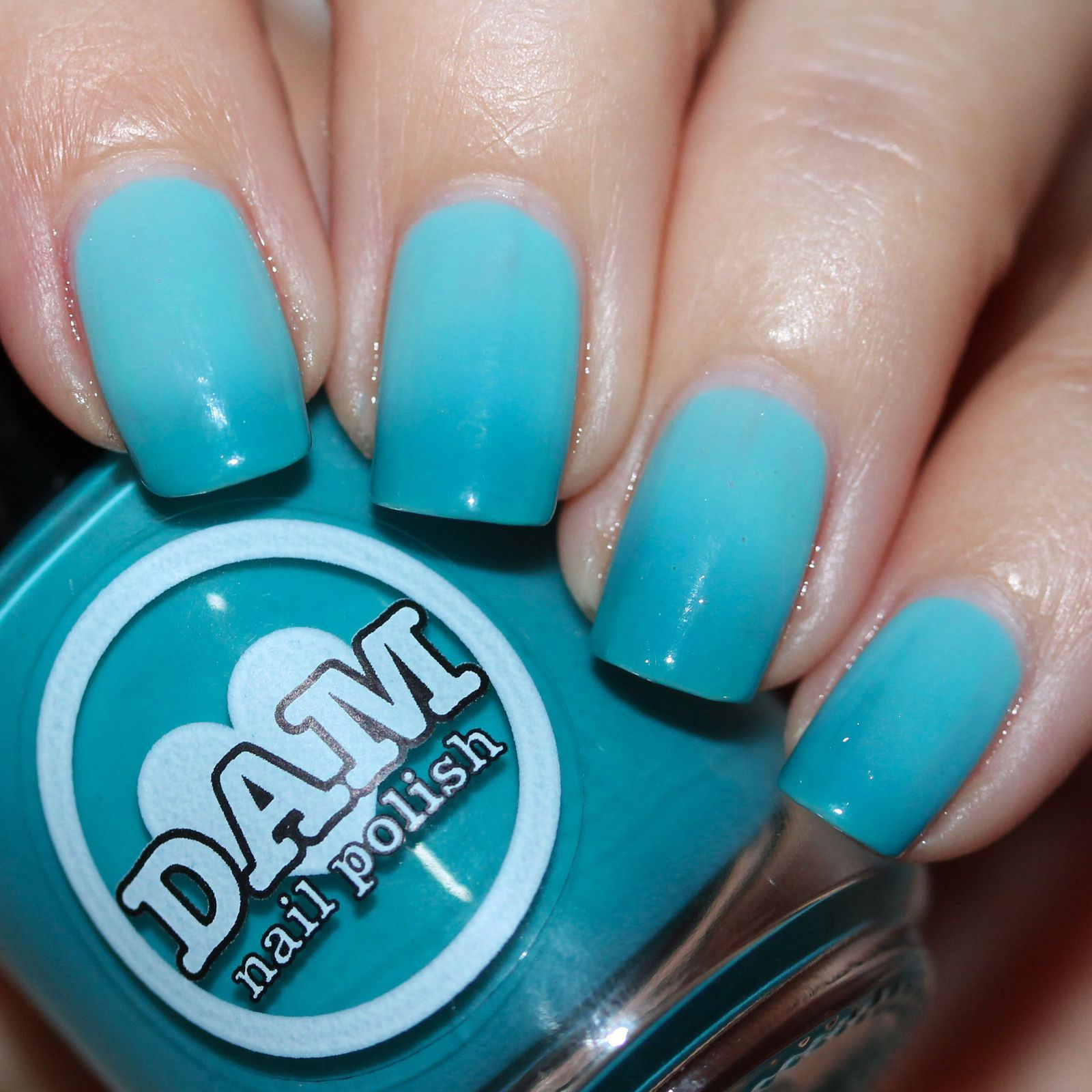 Duri Rejuvacote / DAM Nail Polish Teal Next Time / HK Girl Top Coat