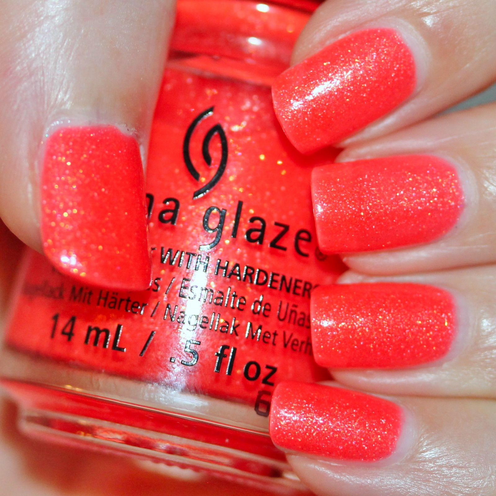 Duri Rejuvacote / China Glaze Papa Don't Peach / Lilypad Lacquer Crystal Clear Top Coat