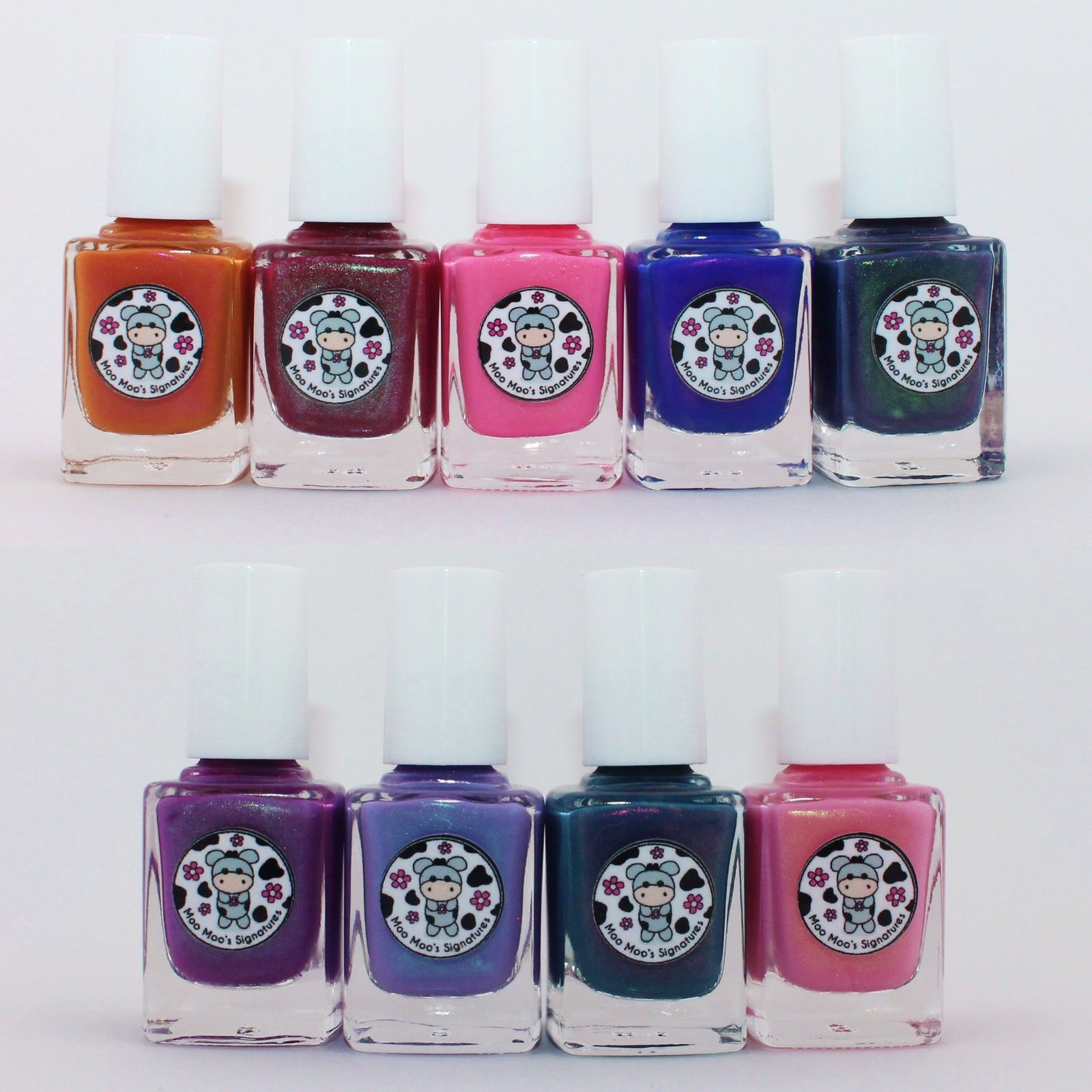 Moo Moo's Signatures Disappeared Loulan, Incantation, Love Brightens Our World, Viva Forever, The Fallen Princess, Rosy Aroma, Frozen Lavender, Mermaid Elixir, Himalayan Cherry.