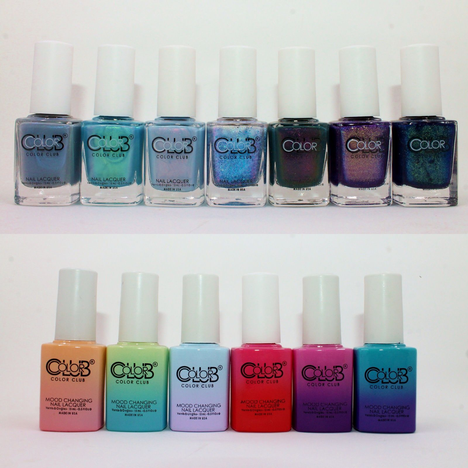 Color Club It's a Sign, Off the Charts, Element of Surprise, Constellation Prize, Across the Universe, Kiss my Astrology, Written in the Stars, Happy Go Lucky, Shine Theory, Blue Skies Ahead, Tankini, Feelin' Myself, Serene Green.