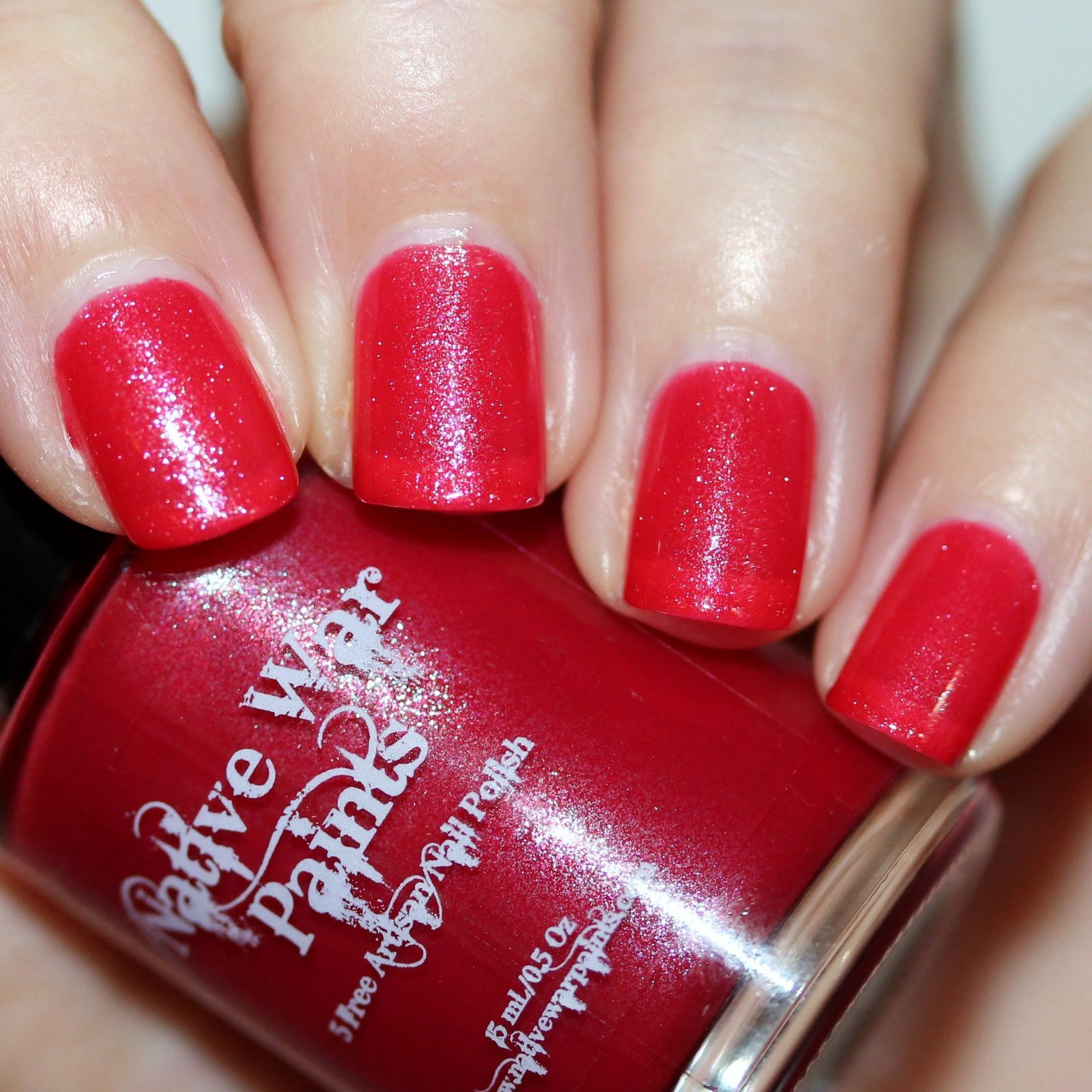 NWP Wrapped in Red (3 coats, no top coat)