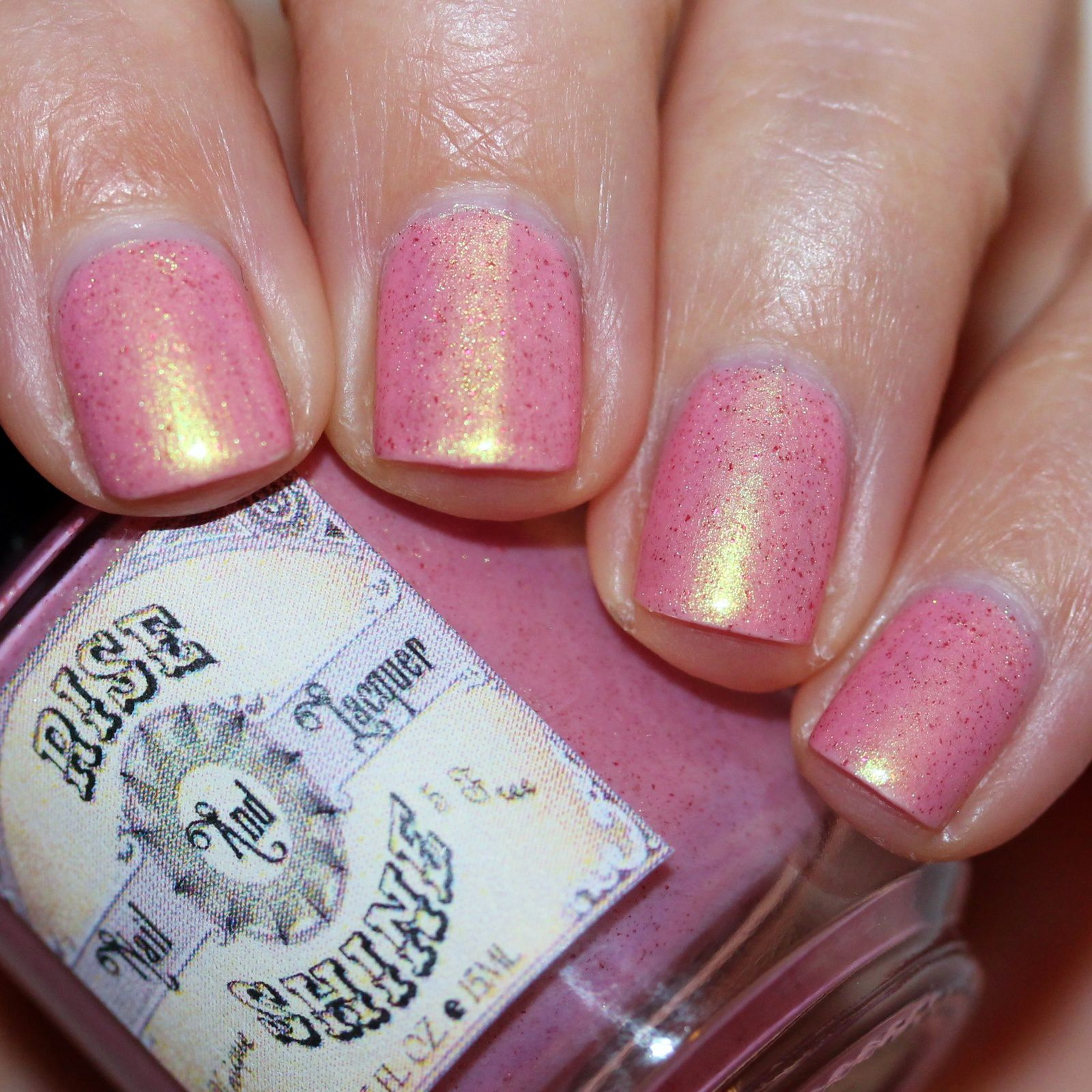 Sally Hansen Complete Care 4-in-1 Extra Moisturizing Nail Treatment /  Rise & Shine Nail Lacquer Hello From The Other Side / Poshe Top Coat