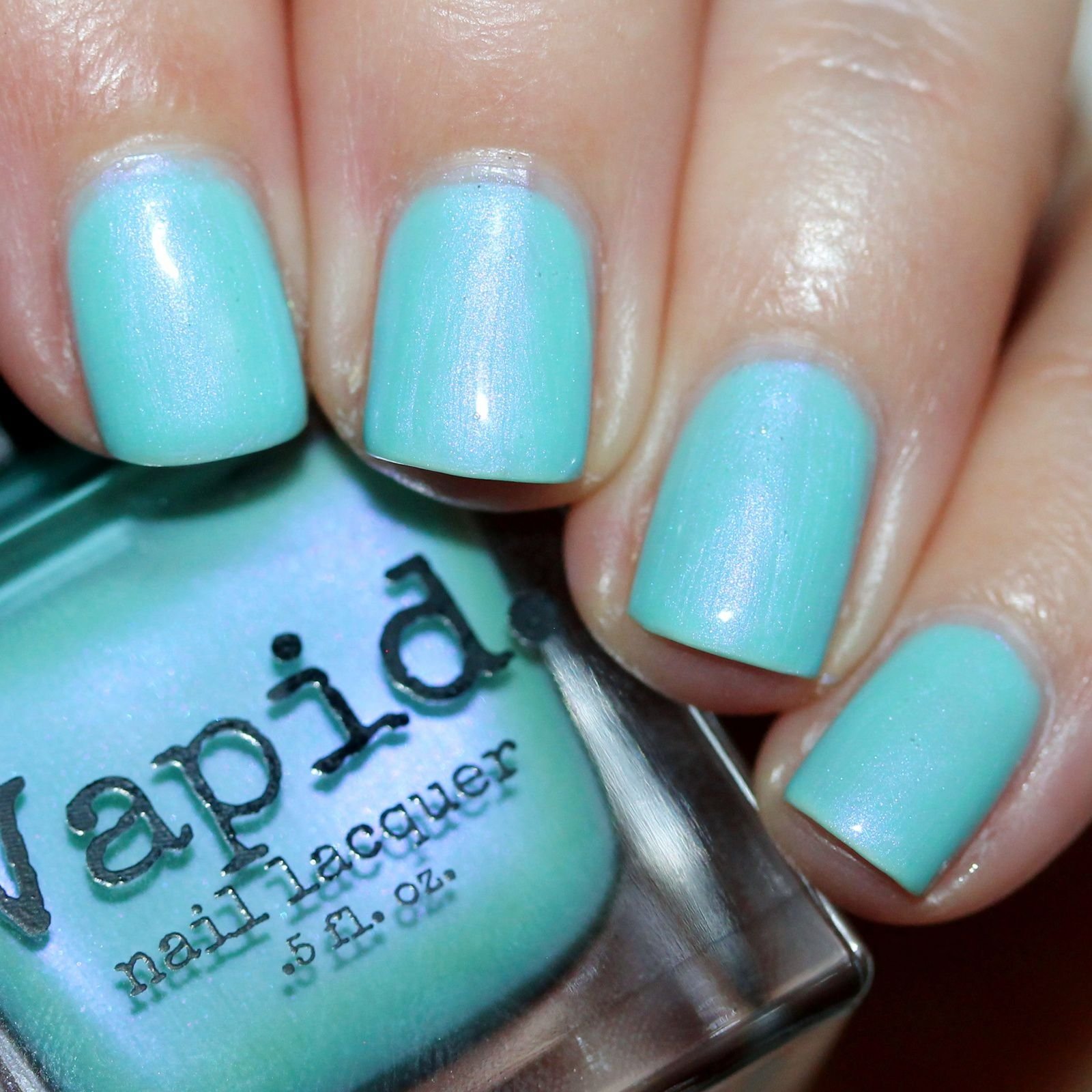 Sally Hansen Complete Care 4-in-1 Extra Moisturizing Nail Treatment / Vapid Lacquer Watercolor Octopus / Poshe Top Coat